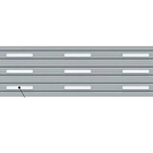イナバ物置 オプション ガレーディア(GRN)用 明かり窓付シャッター 幅2630用 手動用/電動用(1棟あたりの加算金額) *本体同時注文価格