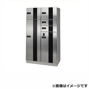 田島メタルワーク マルチボックス MULTIBOX GXE-8 大型荷物用(脱出レバー付) 下段タイプ 『集合住宅用宅配ボックス マンション用』 へアライン