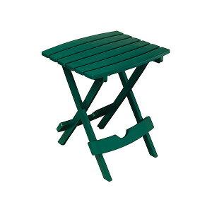TOSHO 折り畳みサイドテーブル アメリカ製 プラスチック素材 #8500-16-3731 ハンターグリーン