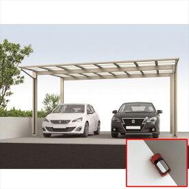 『個人宅配送不可』 アルミカーポート 2台用 四国化成 ライトポート ワイドタイプ 延高 4854 ポリカーボネート板 LTPE-B4854SC ステンカラー