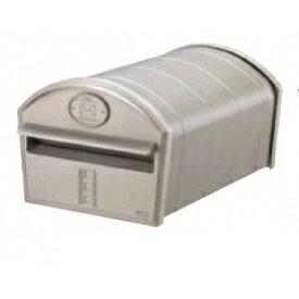 リクシル TOEX エクスポスト アメリカンタイプ W-1型・前入れ後取出し(上置き部品仕様・部品付) 『リクシル』 『郵便ポスト』 シャイングレー