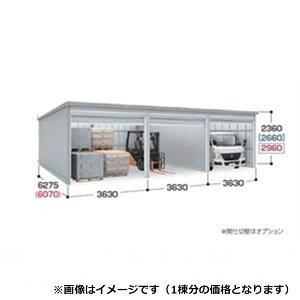 『配送は関東・東海限定』 イナバ物置 ガレーディア GRN-3662HL(基本棟) 一般型 『シャッター車庫 ガレージ』