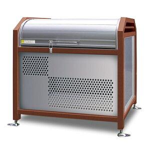 アルミック ミックストッカー 900タイプ 『ゴミ収集庫 ダストボックス ゴミステーション 屋外』『ゴミ袋(45L)集積目安 8袋、世帯数目安 4世帯』『完成品で届けるのですぐに使用可能』 チ