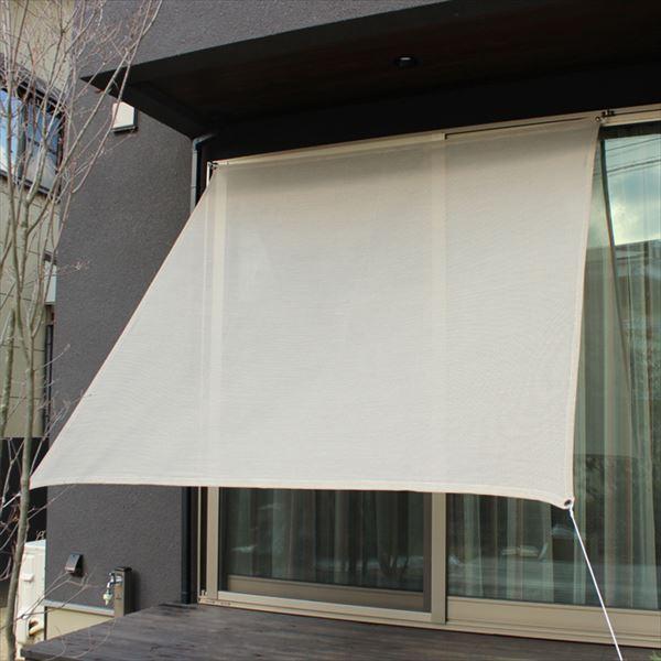 イチオリシェード プレーン 『屋外用日よけ 透過性と通気性へのこだわり 日本製 シェード』 アッシュベージュ