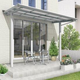 三協アルミ セパーネ 2間×6尺 ロング柱 本体取付仕様隙間カバー付 熱線遮断ポリカーボネート屋根