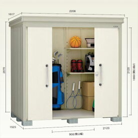 ダイケン ガーデンハウス DM-Z DM-Z2115-NW 一般型 物置  『中型・大型物置 屋外 DIY向け』 ナチュラルホワイト