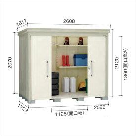 ダイケン ガーデンハウス DM-Z DM-Z2517-NW 一般型 物置  『中型・大型物置 屋外 DIY向け』 ナチュラルホワイト
