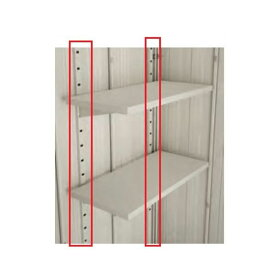 c9fe911bc6 ダイケン物置 ガーデンハウス DM-Z型 オプション 棚受支柱(2本入り