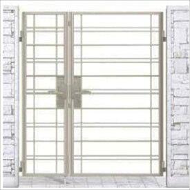 YKKAP シャローネ門扉 SB01型 親子開き 門柱仕様 04・08-14