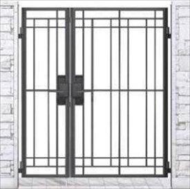 YKKAP シャローネ門扉 SB02型 親子開き 門柱仕様 04・08-14