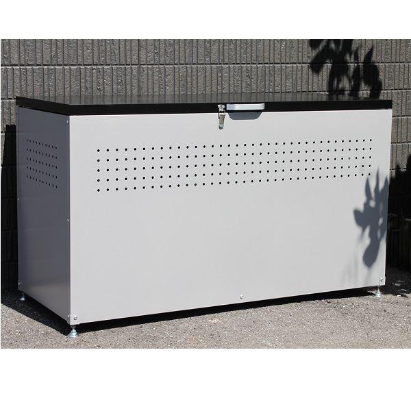 配送条件限定商品 ダイマツ ダストボックス 120 DB-120 『ゴミ袋(45L)集積目安 6袋、世帯数目安 3世帯』『ゴミ収集庫』『ダストボックス ゴミステーション 屋外 スチール』