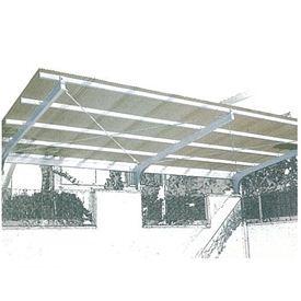 三菱ケミカル ポリカーボネート波板 ヒシ波ポリカ 8尺 10枚入り 【カーポート・テラスの屋根の修理、雨漏りなどのメンテナンスやリフォームをDIYで】