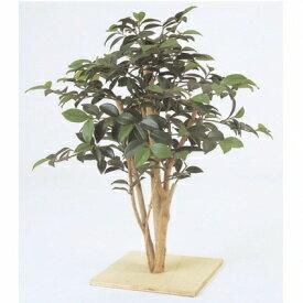 『人工植栽』 タカショー グリーンデコ和風 ミニ サザンカ 板付 60cm GD-13