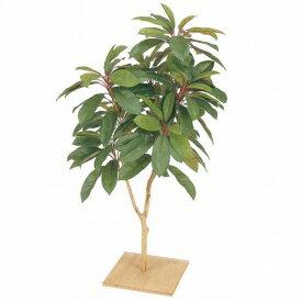 『人工植栽』 タカショー グリーンデコ和風 ユズリハ 板付 90cm GD-11S