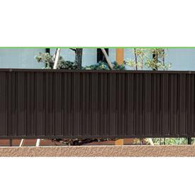 三協アルミ ニューアイシャノン3型 フェンス本体 フリー支柱タイプ 2010 『アルミフェンス 柵 高さ H1000mm用』