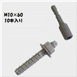 グローベン 構造部材 ステンレスアンカーボルト M10×60 10本入 A50KD1060A 『外構DIY部品』