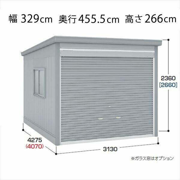 『配送は関東・東海限定』 イナバ物置 ガレーディア GRN-3142H 一般型 『シャッター車庫 ガレージ』
