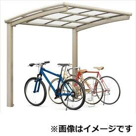リクシル TOEX ネスカR ミニ 基本 18-22型 標準柱(H19) ポリカーボネート屋根 『リクシル』 『自転車置場 サイクルポート 自転車屋根』