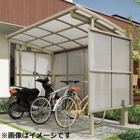リクシル TOEX サイクルポート フーゴR パーク 22-18型 パネル高さ H:1600 ポリカ板 『リクシル』 『サビに強いアルミ製 家庭用 自転車置き場 屋根』