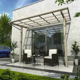 YKK ap 独立テラス屋根(600N/m2) エフルージュグラン ZERO 2間×6尺 標準柱(H2600) T字構造タイプ 熱線遮断ポリカ アルミカラー