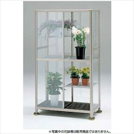 ピカコーポレーション 小型温室 FHB-1508BL 『アルミ製/組立品』 ライトブロンズ