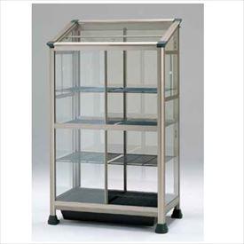 ピカコーポレーション 小型温室 FAK-1811BL *保温カバー付 『アルミ製/組立品』 ライトブロンズ