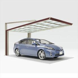 四国化成 マイポート Next 標準高 2341 基本セット 『アルミカーポート 自動車屋根』『マイポートネクスト』 *商品画像はイメージです 木調タイプ