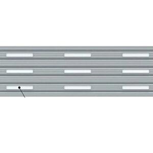 イナバ物置 オプション ガレーディア(GRN)用 明かり窓付シャッター 幅2130用 手動用/電動用(1棟あたりの加算金額) *本体同時注文価格