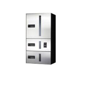 田島メタルワーク マルチボックス MULTIBOX GX-D5WN 上段タイプ 小型荷物用/中型荷物用(捺印装置付) ステンレス 『集合住宅用宅配ボックス マンション用』