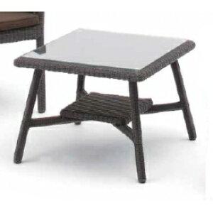 タカショー 庭座 カフェテーブル 600 KFA-T005 #34691200 『ガーデンテーブル』 ダークブラウン