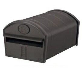 リクシル TOEX エクスポスト アメリカンタイプ W-1型・前入れ後取出し(上置き部品仕様・部品付) 『リクシル』 『郵便ポスト』 オータムブラウン