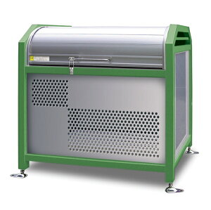 アルミック ミックストッカー 900タイプ 『ゴミ収集庫 ダストボックス ゴミステーション 屋外』『ゴミ袋(45L)集積目安 8袋、世帯数目安 4世帯』『完成品で届けるのですぐに使用可能』 グ