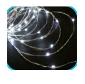 コロナ産業 室内用LEDジュエリーライト50球 JE50W LED色:白色 『イルミネーションライト』