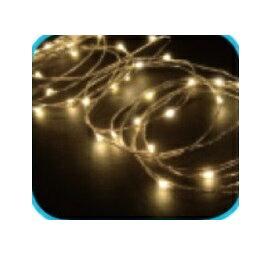 コロナ産業 室内用LEDジュエリーライト50球 JE50D LED色:電球色 『イルミネーションライト』