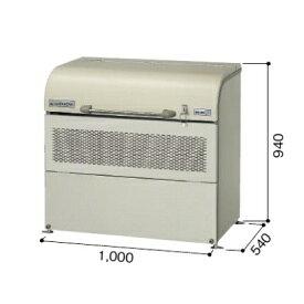 ヨドコウ ダストピット DPUB-400 『ゴミ袋(45L)集積目安 9袋、世帯数目安 4世帯』 『追加金額で工事も可能』 『ダストボックス ゴミステーション 屋外』