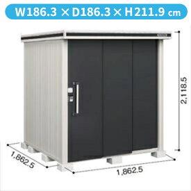 ヨドコウ LMD/エルモ LMD-1818 物置 一般型 標準高タイプ 『追加金額で工事も可能』 『屋外用中型・大型物置』 スミ