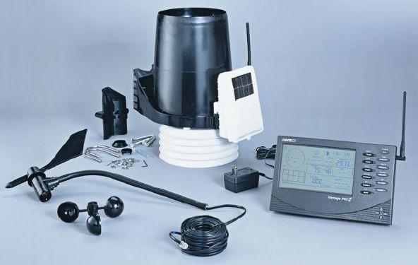 DAVIS社 ヴァンテージプロ2ワイヤレス気象観測システム(システム1)