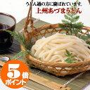 上州あづまうどん 半生うどん 300g×10袋入(20人前) 【 送料無料 】太麺でモチモチ感とコシが特徴