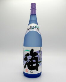 海(うみ)1800ml【人気商品】【芋焼酎】【鹿児島県】【女性】【大海酒造】