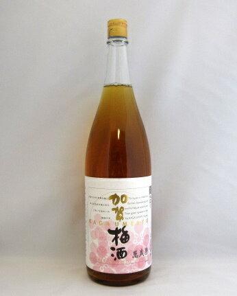 萬歳楽  加賀梅酒1800ml 【飲食店様おすすめ】【梅酒】