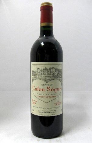 シャトー・カロン・セギュール [2001] 750ml 【母の日・父の日】【フランス】【ボルドー】【サン・テステフ】【メドック第3級格付】【赤ワイン】【ハート・ラベル】