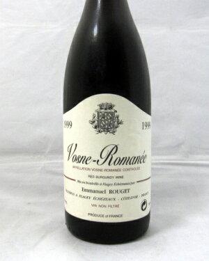 ヴォーヌ・ロマネエマニュエル・ルジェ[1999]750ml(EmmanuelRouget)【赤ワイン】【フランス】【神の雫】【アンリ・ジェイエ後継者】【ブルゴーニュ】【輸入元フィラデス】