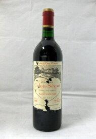 【ポイント5倍】シャトー・カロン・セギュール[1986]750ml【WA89点】【輸入元・フィラデス】【ハートマーク】【赤ワイン】【フランス】【ボルドー】【サン・テステフ】【第3級格付】【赤ワイン】【エチケットに経年によるダメージあり】