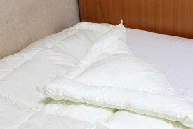 洗えるキャメル合い掛け布団(クィーン210×210cm)【日本製】/キャメルふとん