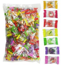 飴 業務用 1kg フルーツミックスキャンディー・約250個幼稚園 祭り 景品 子供会 縁日