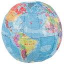 【エントリーでP10倍】紙風船 地球儀3号 ( 袋入 ) ( 税別\87×12枚 )幼稚園 夏祭り 景品 子供会 縁日