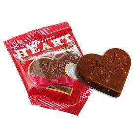 バレンタイン 不二家 ハートチョコレート ( ナッツ入り ) ( 税別68円×10個 )バレンタイン チョコ 義理チョコ 子供会 景品