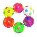 光る笛付きサッカーボール(税別\78×12個)《縁日 イベント 子ども会 子供会 夏祭り 景品 ノベルティ お祭り …