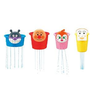 アンパンマンおふろでかさねてシャワーカップ ( 税別¥1176×1個 ) 《 おふろ おもちゃ 知育玩具 バストイ アンパンマン 出産祝い 》幼稚園 祭り 景品 子供会 縁日