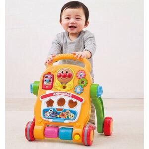 アンパンマン おもちゃ よくばりすくすくウォーカー (1個)遊具 手押し車カタカタ 知育玩具 出産祝い プレゼント